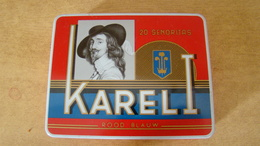 Boite Karel I 20 Senoritas Rood Blauw Amarillo - Around Cigars