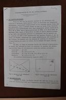 AUTOMATISATION  DU   TRI  DES  LETTRES  EN  FRANCE    8  PAGES            7  PHOTOS - Matasellos