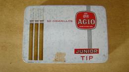 Boite 50 Cigarillos AGIO Junior TIP - Around Cigars