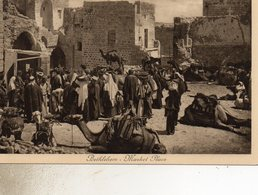 CISJORDANIE  ETHEHEM   MARCHE - Cartes Postales