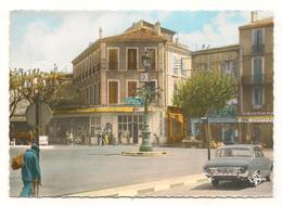 Aubagne - Place Pasteur - Automobile - Beau Plan  -  CPA° - Aubagne