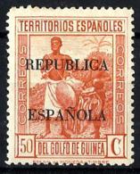 Guinea Española Nº 225 Con Charnela - Guinea Española