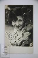 Antique Photographic Postcard Actress Estelle Brody - 1920´s - Artistas