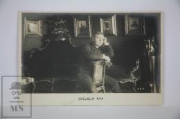Antique  Photographic Postcard French Actor Coquelin Ainé - Early 1900´s - Artistas