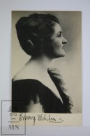 Antique  Photographic Postcard German Actress Emmy Wehlen - 1920´s - Artistas