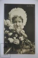 Antique Photographic Postcard Girl Actress Angelika Walter - Early 20th Century - Artistas
