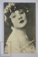 Antique Photographic Postcard USA Actress Betty Blythe - 1920´s - Artistas