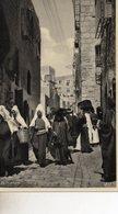 CISJORDANIE  BETHLEHEM  UNE RUE A BETHLEHEM - Cartes Postales