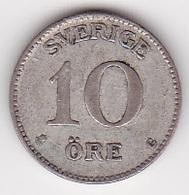 10 Öre Münze Aus Schweden (vorzüglich) 1937 Silber - Schweden