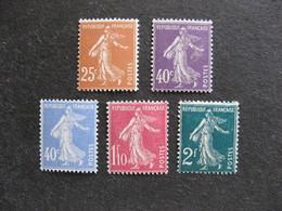 TB Série N°235 Au N° 239, Neufs XX. - France