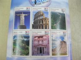 Sierra Leone  Wonders Of The World   Great Wall I201804 - Sierra Leone (1961-...)