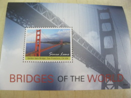 Sierra Leone  Bridges Of The World I201804 - Sierra Leone (1961-...)