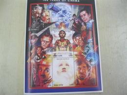 Sierra Leone  100 Years Of Cinema  I201804 - Sierra Leone (1961-...)