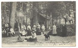 CPA - SAINT DIZIER, LA MARINA, LE LION - Haute Marne 52 - Animée, Circulé 1906 - Saint Dizier
