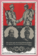 Guerre 14/18 - Carte Illustrée Allemande Signée C. H. MÜNCH - Kaiser - Guerra 1914-18