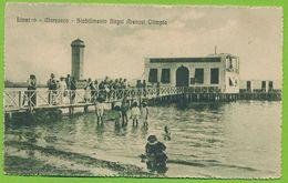 LIVORNO - Marzocco - Stabilimento Bagni Arenosi Olimpia Carte Circulé 1917 - Livorno