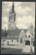 +++ CPA - BRUGGE  BRUGES - Béguinage - Cour Intérieure De L'hopital St Jean Et Eglise Notre Dame - Nels // - Brugge