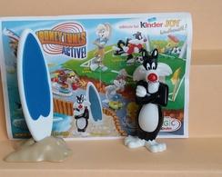Kinder Looney Tunes  TT396 + Bpz Allemand - Families
