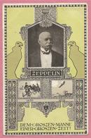 Guerre 14/18 - Carte Illustrée Allemande Signée C. H. MÜNCH - Graff ZEPPELIN - Guerra 1914-18