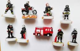 Fève Série Complète Fèves Nos Amis Les Pompiers - Characters