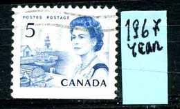 CANADA - Year 1967 - Usato - Used - Utilisè - Gebraucht. - 1952-.... Regno Di Elizabeth II