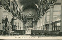 CPA - CAEN - INTERIEUR DE LA CHAPELLE DE L'HOSPICE SAINT-LOUIS (ETAT PARFAIT° - Caen