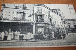 CPA Nanterre Carrefour Rue Du Chemin De Fer Et St Germain Ed Ossart Et Capelle  67 - Nanterre