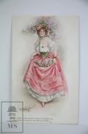"Illustrated Postcard ""In Hoops & Furbelows"" - F. Aveline - Ed. James Henderson Nº 2674 - Women With Hat & F - Ilustradores & Fotógrafos"