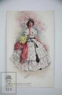 "Illustrated Postcard ""In Hoops & Furbelows"" - F. Aveline - Ed. James Henderson Nº 2671 - Women With Hat & F - Ilustradores & Fotógrafos"