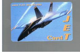 ITALIA (ITALY) - REMOTE -   FISCALBIT - JET CARD, PLANE  10.000   - USED - RIF. 10957 - Schede GSM, Prepagate & Ricariche