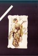 Menu - 26 Octobre 1905 - Superbe Gaufrage Musicienne Japon - Menus