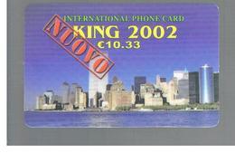 ITALIA (ITALY) - REMOTE -  KING 2002, VIEW - USED - RIF. 10959 - Schede GSM, Prepagate & Ricariche