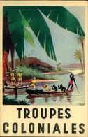 N°625 RRR LR 10 PUBLICITE TROUPES COLONIALES - Postcards