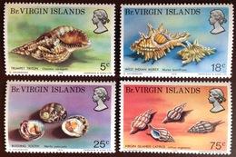 Virgin Islands 1974 Shells MNH - Coquillages