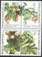 DOMINICAN REPUBLIC, 2003, FLORA, MEDICINAL TREES, YV#1484-87, MNH - Heilpflanzen