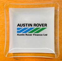 CENDRIER EN VERRE AUSTIN ROVER AUSTIN ROVER FINANCE LTD - Ashtrays
