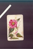 Menu Circa1900 - Fleur Peinture Originale - Menus