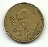 1988 - Messico 1.000 Pesos, - Messico