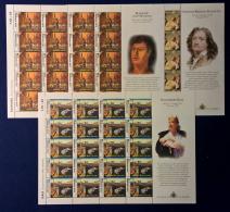 San Marino 2004 Pittura Minifoglio Da 20 Sass. 2019/21 **/MNH VF - Blocks & Sheetlets