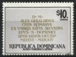DOMINICAN REPUBLIC, 1998, LATIN REGISTRATION OF THE COLONIAL SEASON, YV#1316, MNH - Dominican Republic