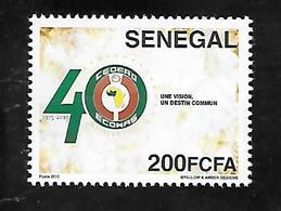 TIMBRE NEUF DU SENEGAL DE 2015 - Senegal (1960-...)