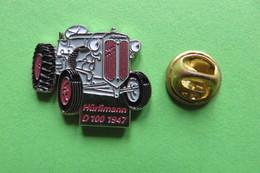 Pin's,HURLIMANN, HÜRLIMANN,D100 1947,Tractor,Trattore,Traktor,machine Agricole,limité - Transportation