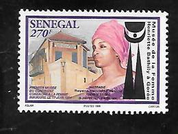 TIMBRE OBLITERE DU SENEGAL DE 1998 N° MICHEL 1558 - Senegal (1960-...)