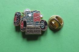 Pin's,HURLIMANN, HÜRLIMANN,H12 1951,Tractor,Trattore,Traktor,machine Agricole,limité - Transportation