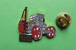 Pin's,HURLIMANN, HÜRLIMANN, 1K8 1929,Tractor,Trattore,Traktor,machine Agricole,limité - Transportation