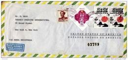 28390. Carta Aerea Certificada LARGODASE (Brasil)  1968. Remite SAO PAULO - Brasil