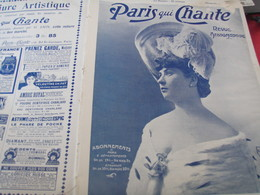 PARIS QUI CHANTE/ LEA LONVAL/ OFFENBACH LISCHEN FRITZCHEN /XAVIER PRIVAS - 1900 - 1949