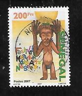 TIMBRE OBLITERE DU SENEGAL DE 2007 N° MICHEL 2176 - Senegal (1960-...)
