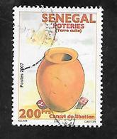 TIMBRE OBLITERE DU SENEGAL DE 2011 N° MICHEL 2185 - Senegal (1960-...)