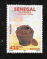 TIMBRE OBLITERE DU SENEGAL DE 2011 N° MICHEL 2187 - Senegal (1960-...)